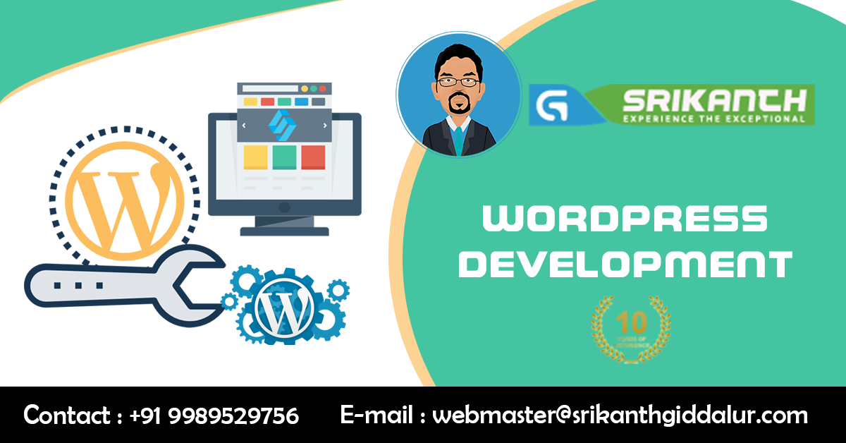 Freelance - Wordpress Website Development - Services In Hyderabad